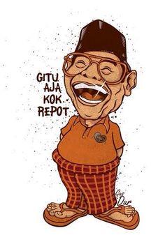 Humor Gus Dur: Anak Presiden yang Dilempar dari Pesawat dan Rakyat Senang