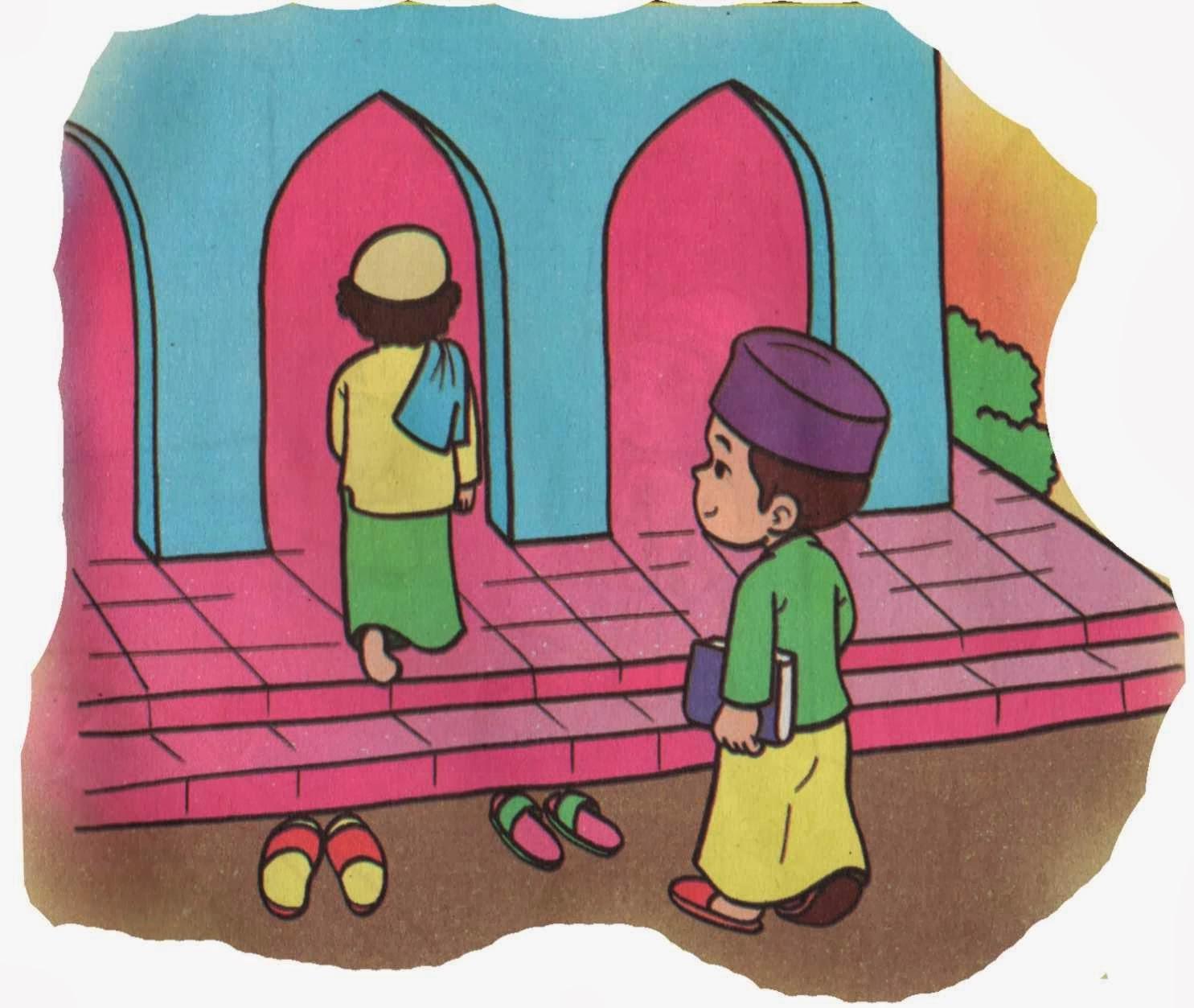Doa Masuk Masjid Islamidotco