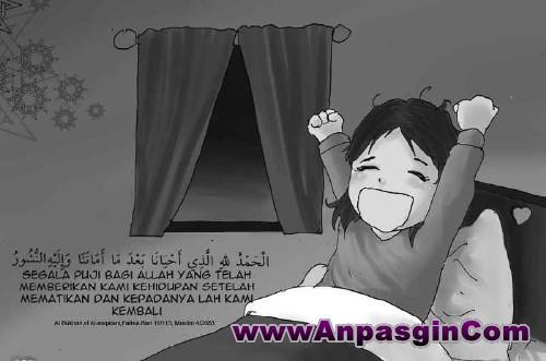 Doa  Bangun Tidur