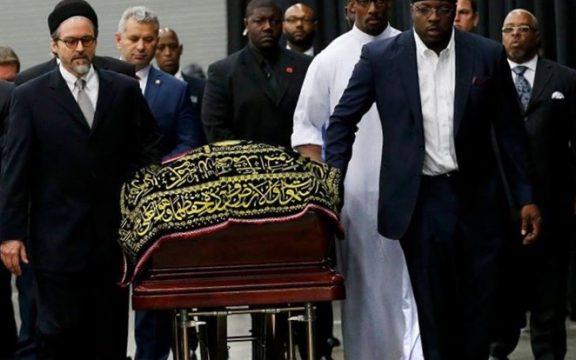 Pemakaman Muhammad Ali Dihadiri Puluhan Ribu Orang