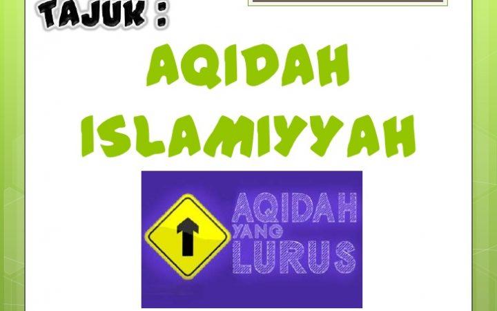 Belajar Aqidah Islamiah
