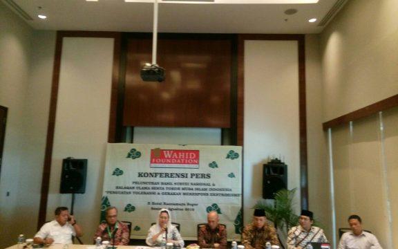 Wahid Foundation: Mayoritas Umat Islam Menolak Radikalisme