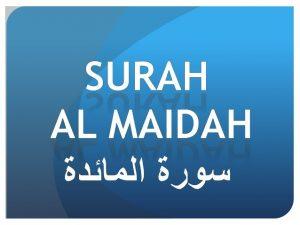 Tafsir Auliya dalam Surah Al Maidah: 51