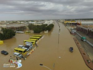 Hujan dan Banjir di Tanah Arab