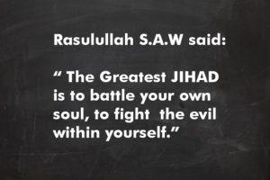 Tiga Alasan Kenapa Santri Tidak Bisa Didoktrin Jihad Perang
