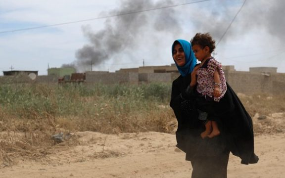 Kegembiraan Warga Mosul Menikmati Ramadhan