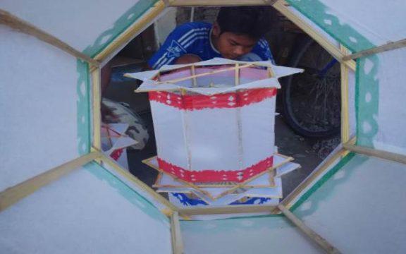 Lampion Teng Tengan Lampu Khas Ramadhan di Semarang