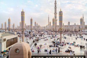 Ramadhan di Madinah: Wajib Vaksin dan Tarawih yang Dibatasi Waktunya