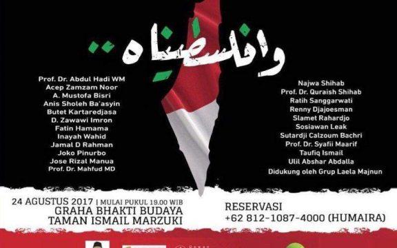 Gus Mus dan Cinta untuk Palestina