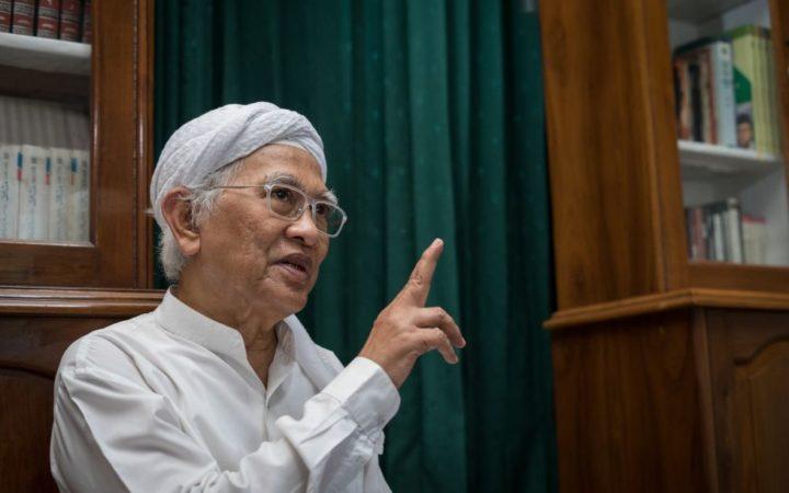 Jelang Pelantikan Presiden 2019, Gus Mus Tulis Surat untuk Ingatkan Jokowi Maruf Amin, Ini Isinya!