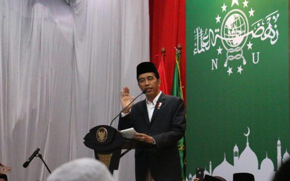 Presiden Jokowi Apresiasi Peran NU Bawa Semangat Persatuan Bangsa