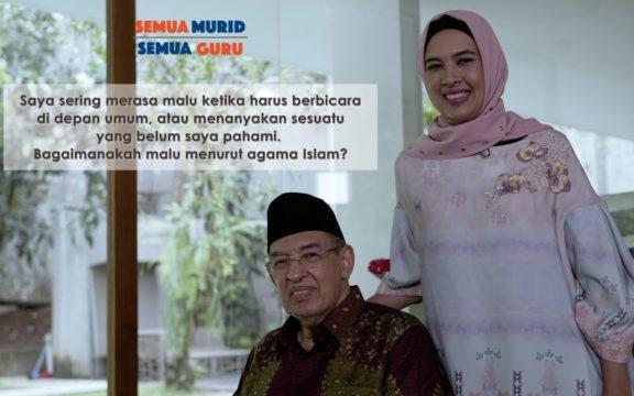 Bagaimanakah Konsep Malu dalam Islam? Begini Jawaban Prof. Quraish Shihab