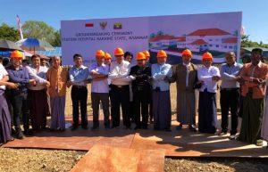 Indonesia Bangun Rumah Sakit di Rakhine