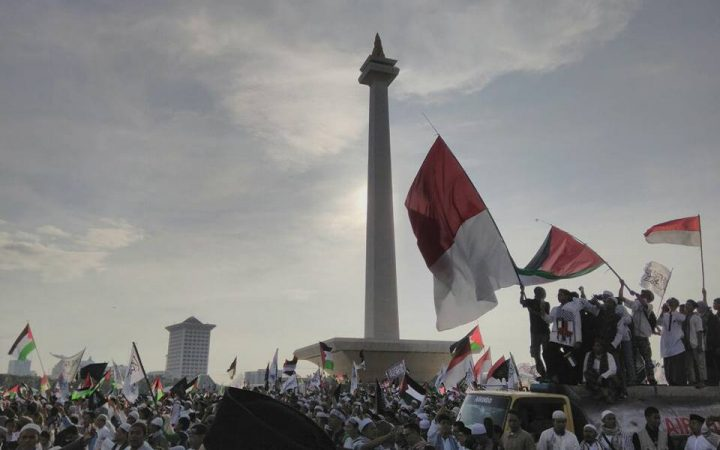 Lautan Cinta Muslim Indonesia untuk Palestina