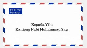 Surat Terbuka untuk Kanjeng Nabi Muhammad