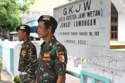 Banser: Menjaga Gereja, Menjaga Indonesia