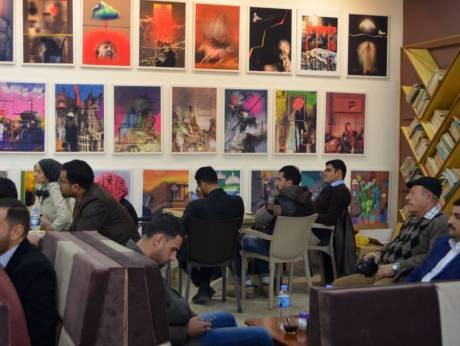 Mosul yang Menggeliat dengan Kafe Sastra