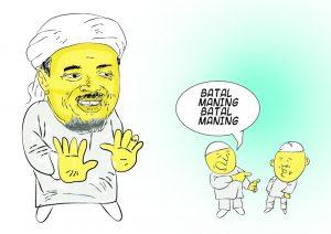 Habib Rizieq Diciptakan, Bukan Representasi Sesungguhnya Muslim Indonesia