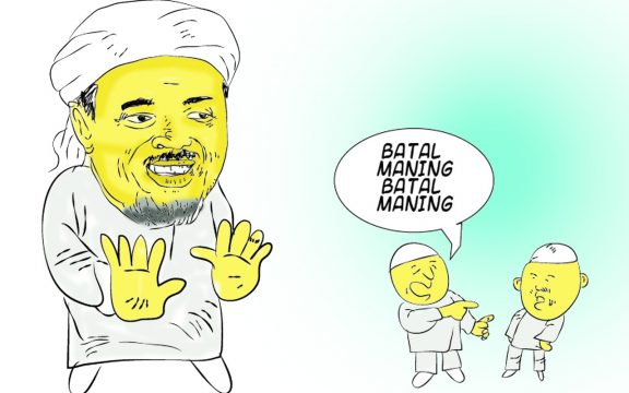 Habib Rizieq, Gus Dur dan Sikap Ksatria