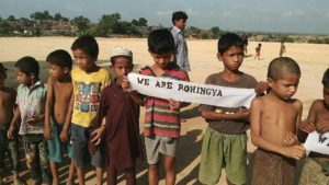 Anak-anak Rohingya Kekurangan Gizi