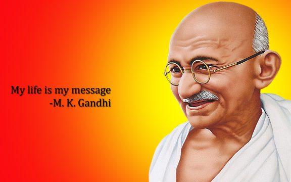Belajar dari Gandhi, Suatu Kejahatan Akan Melahirkan Kejahatan yang Lain