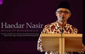 Lewat Haedar Nashir, Muhammadiyah Respon Hilangnya Diksi 'Agama' dari Visi Pendidikan 2035