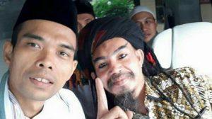 Kedekatan Ustad Somad bersama Limbad: Bertanya Hukum Rambut Gimbal hingga Selfie