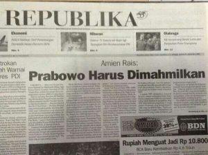 Sejarah Prabowo Berlutut dan Menangis di Depan Gus Dur