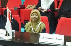 Rifdah Juara Musabaqah Hifdzil Quran Internasional