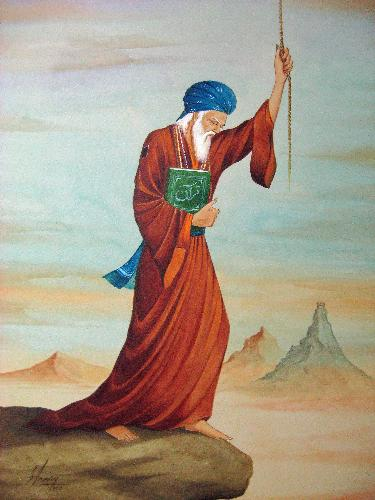 Berkat Doa Seorang Gembel, Hujan Lebat Turun di Musim Kemarau Panjang pada Zaman Harun Al-Rasyid