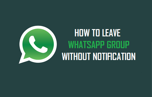 Bagaimana Hukum Keluar dari Group Whatsapp?