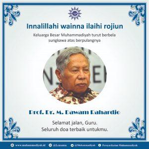 Berdoa untuk Wafatnya Prof Dawam Rahardjo: Putri Gus Dur hingga Muhammadiyah