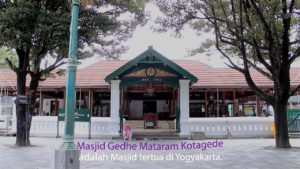 Akulturasi Islam dan Hindu di Masjid Agung Mataram Yogyakarta