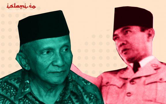 Ini Bedanya Sontoloyo Amien Rais dan Bung Karno!