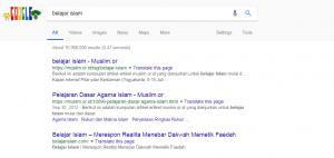 Jika Milenial Hanya Belajar Islam lewat Google Saja