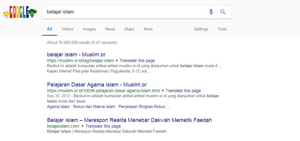 Memang Kenapa Kalau Belajar Islam di Google?