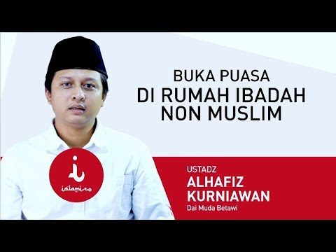 Berbuka Puasa dengan Non-Muslim Tidak Masalah Kok, kata Ustadz Alhafiz