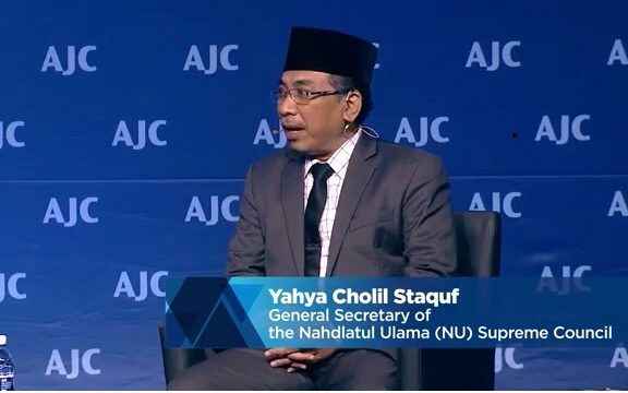 Yahya Staquf: Saya Hanya Melanjutkan Gus Dur