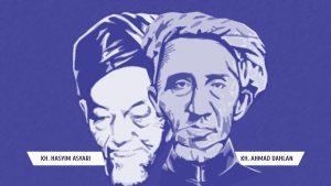 Belajar Memahami Agama yang Ramah dari KH. Ahmad Dahlan dan KH. Hasyim Asyari