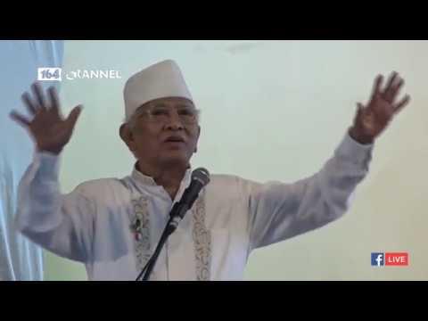 Gus Mus di Haul Gus Dur 2019: Kok Ada Orang yang Merasa Saat Dirinya Marah, Allah Juga Marah