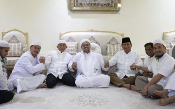 Jika Habib Rizieq Jadi Capres, Harusnya FPI Berani Jadi Partai Politik