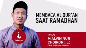Tadabbur AlQuran dalam Ramadhan