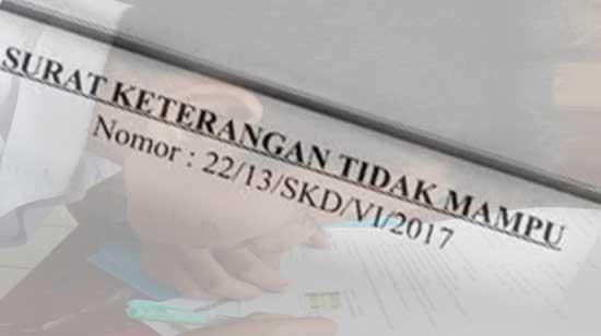 Hukum Menggunakan SKTM Palsu
