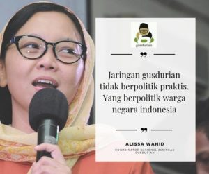 Alissa Wahid: Para Politisi Mempermainkan Hidup Rakyat