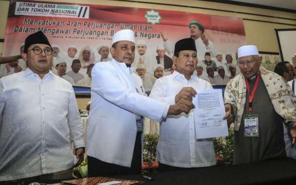 Ijtima Ulama untuk Prabowo-Sandi dan Jejak Pengaruh Habib Rizieq