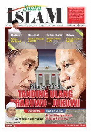 Suara Prabowo di Tabloid Suara Islam: Jokowi Musuh Islam dan Prabowo Mirip Umar bin Khattab
