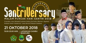 Puncak Hari Santri di Bandung, Menag: Hari Santri Milik Seluruh Bangsa Indonesia
