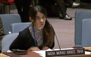 Pesan dari Nadia Murad, Peraih Nobel Perdamaian