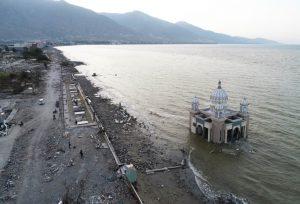 Masjid Arkam Babur Rahman Yang Masih Berdiri Meski  Diterjang Tsunami