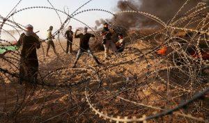 Ribuan Orang di Gaza Berduka Atas Tewasnya 7 Warga Palestina